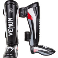 Venum Elite Shin Guards Black