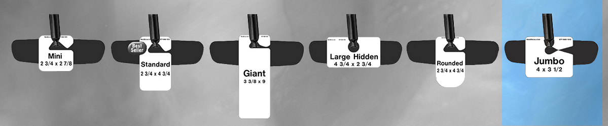 Jumbo Parking Hang Tag