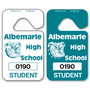 Custom parking permit tags allow endless design possibilities and project a professional image. Available in over 30 Stock Ink Colors or unlimited custom colors. These durable Parking Hang Tags are printed on heavy duty .035 inch material to give you the strongest parking permit available. Order today and get Free Setup, Free Numbering and Free Logo.
