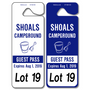 School Pick Up Tags allow endless design possibilities and project a professional image. Available in over 30 Stock Ink Colors or unlimited custom colors. These durable Parking Hang Tags are printed on heavy duty .035 inch material to give you the strongest parking permit available. Order today and get Free Setup, Free Numbering and Free Logo.