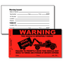 Our PV-02 Parking Violation Stickers are designed to notify offenders that they have improperly parked.