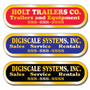 Our Gold Service Stickers allow endless design possibilities and project a professional image for your business.
