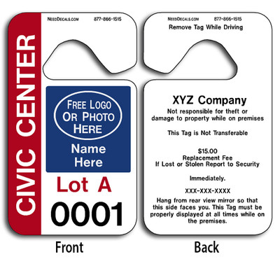 Custom Car Hang Tags allow endless design possibilities and project a professional image.