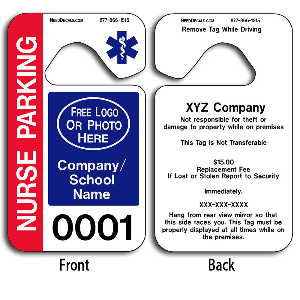 hanging parking permit template free - parking hang tags templates 50 to 2 500