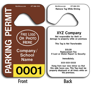 4-Color Process Parking Permit Template Download allow endless design possibilities and project a professional image.