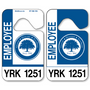 Our standard Car Parking Hang Tags allow endless design possibilities and project a professional image. Available in over 30 Stock Ink Colors or unlimited custom colors. These durable Car Parking Hang Tags are printed on heavy duty .035 inch material to give you the strongest parking permit available. Order today and get Free Setup, Free Numbering and Free Logo.