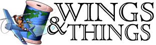 Wings and Things Monogramming