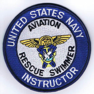 USN Rescue Swimmer Instructor patch