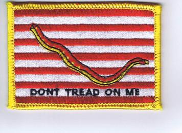 "1st Navy Jack (""Don't Tread on Me"")"