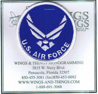 USAF shoulder patch