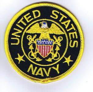 USN Officer shoulder patch