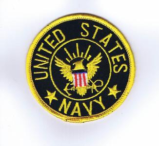 USN Enlisted shoulder patch