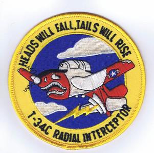 T-34C Heads Will Fall