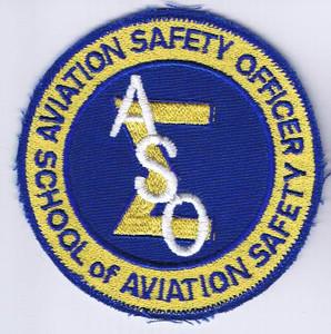 School of Aviation Safety (ASO) patch