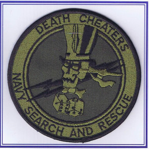 Death Cheaters Navy Search and Rescue patch