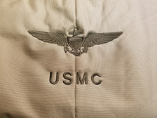 Marine Corp Brown on tan helmet bag