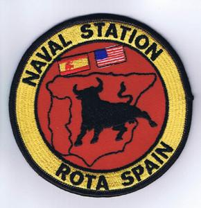 Naval Station Rota Spain patch