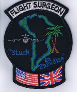 """Diego Garcia """"Stuck in Paradise"""" Patch"""