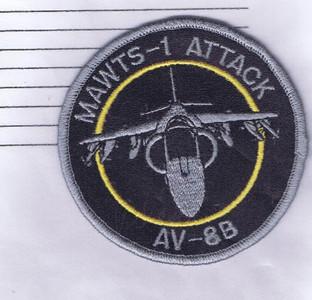 MAWTS-1 Attack AV-8B patch