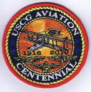 """USCG Aviation Centennial Patch (3.5"""")"""