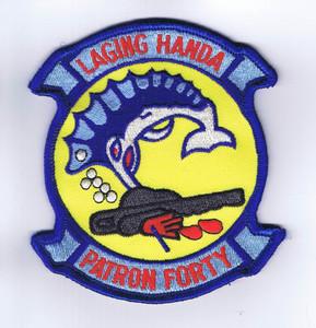 "VP-40 Fighting Marlins ""Laging Handa"" chest patch"