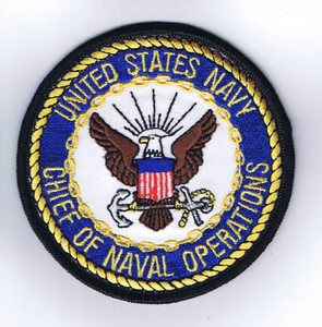 USN Chief of Naval Operations (CNO) patch