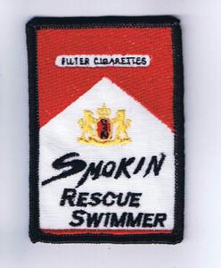 Smokin' Rescue Swimmer
