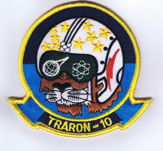 VT-10 Cosmic Cat throwback patch