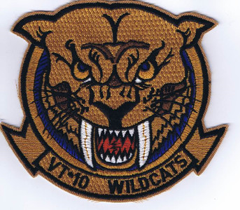 VT-10 Wildcats throwback patch