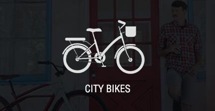 Hybrid City Bikes