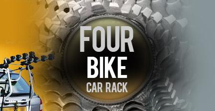 Four Bikes Car Rack