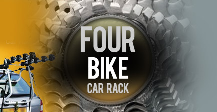 Four Bikes Car Rack