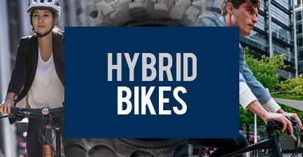 City Hybrid Bikes
