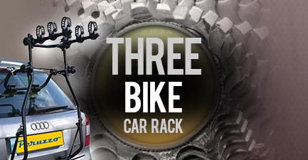 Three Bikes Car Rack