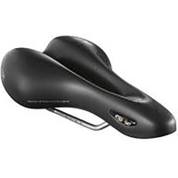 Ellipse Athletic Black Bike Saddle (1671)