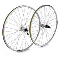 Pro Build 700C Front Touring Wheel, Deore Hub, Mavic A119 Rim, 36 Hole, Silver (7219)