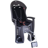 Hamax Smiley Bicycle Child Seat Black & Grey