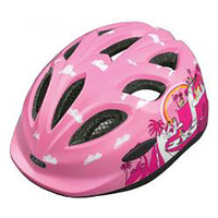 Abus Smiley Helmet: Pony Pink M-L 50-55cm (55778)
