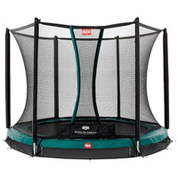 Berg Inground Talent 240 + Safety Net Comfort 8ft Trampoline_1