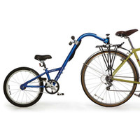 Burley Kazoo Tag-Along Bike Blue
