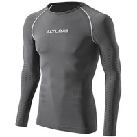 Altura Second Skin Long Sleeve Base Layer Grey