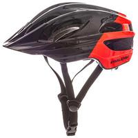 Raleigh K.O.M Segment Helmet- Black/Red
