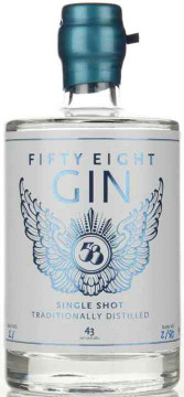 Fifty Eight Gin 20cl-bottle NEW SIZE