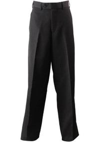 Boy's Black Dress Pants / Flat Front