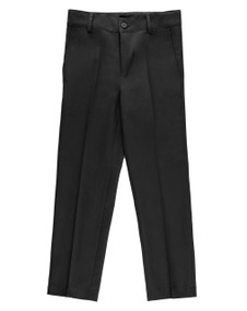 Armando Martillo Boy's Husky Dress Pants -  Black