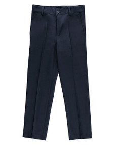 Armando Martillo Boy's Husky Dress Pants -  Navy