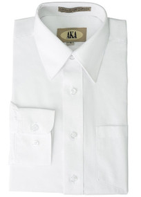 Boy's White Husky Dress Shirt