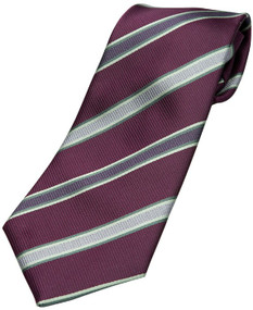 Boy's Purple Zipper Tie