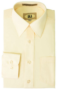 Boy's Butter Yellow Dress Shirt