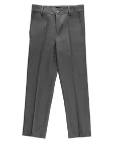 Armando Martillo Boy's Dress Pants - Dark Gray